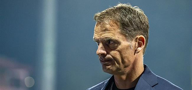 Foto: 'Bizar drama dreigt voor Frank de Boer'