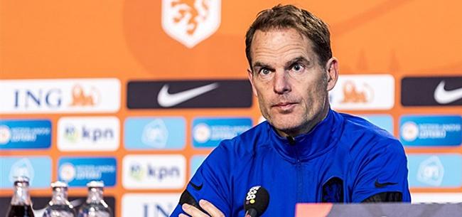 Foto: 'Gigantische Oranje-blunder Frank de Boer'