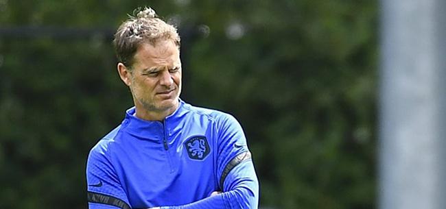 Foto: 'Frank de Boer komt ein-de-lijk met Oranje-actie'