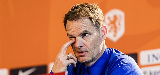 Foto: 'De Boer gooit drie spelers uit Oranje-basis'