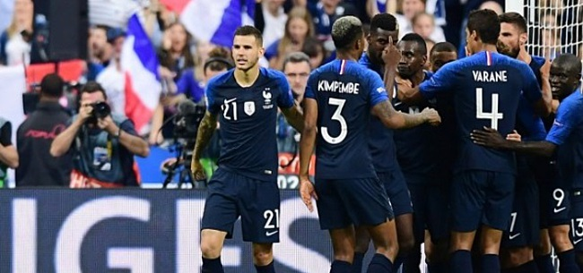 Foto: Martial terug bij nationale ploeg Frankrijk tegen Nederlands elftal