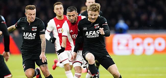 Foto: 'Ajax en PSV weten: AZ vraagt enorm bedrag voor Midtsjö'
