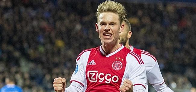 Foto: 'PSG verrast Frenkie de Jong met nieuwe bieding'