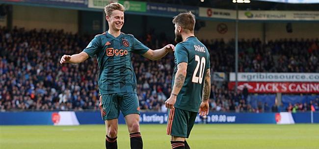 Foto: Ajax hoopt dit seizoen op Frenkie-effect