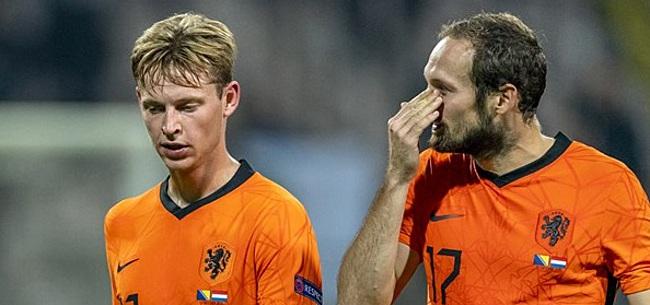 Foto: Blind stelt teleur in Oranje: