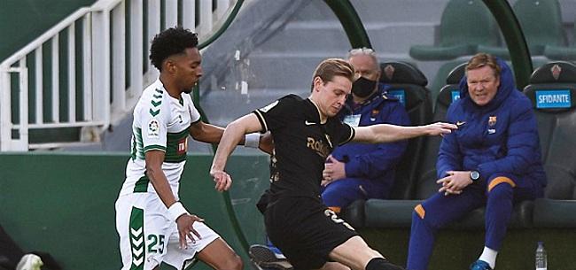 Foto: Voetbalwereld gaat los over Frenkie: