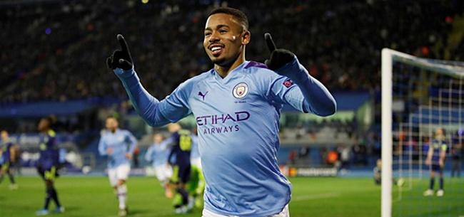 Foto: 'Manchester City denkt aan afscheid van Jesus'