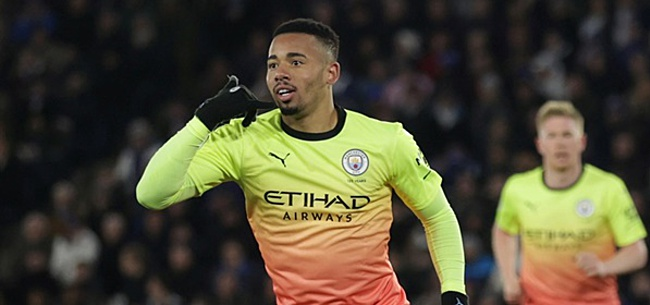 Foto: Jesus matchwinner voor City in Premier League-kraker tegen Leicester