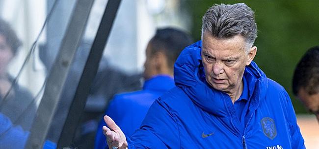 Foto: 'Van Gaal voert twee wijzigingen door in basisteam'