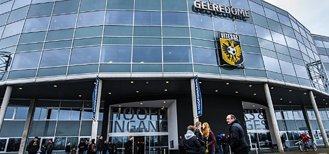 Foto: Vitesse wil stadionhuur niet meer betalen: 'Ongekend hard'