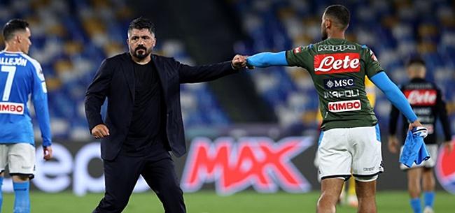 Foto: Gattuso deelt AZ complimenten uit: