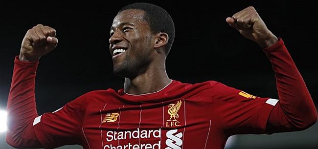 Foto: 'Liverpool moet prioriteit maken van verlenging Wijnaldum'