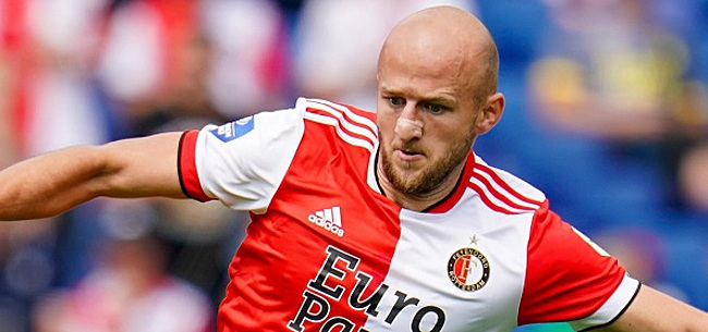 Foto: De opstelling van Feyenoord: Trauner start