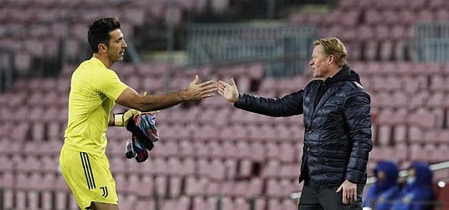 Foto: 'Buffon verrast met transfer naar FC Barcelona'