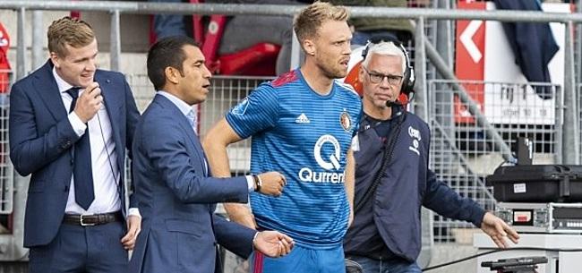 Foto: UPDATE: Feyenoord komt met uitsluitsel over blessure Jörgensen