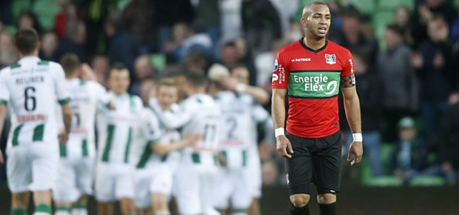Foto: NEC wordt slachtoffer van zeldzame zege FC Groningen