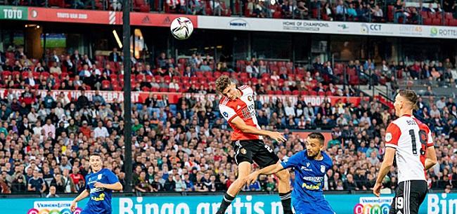 Foto: 'Feyenoord-fans maken zich totaal belachelijk'