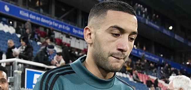 Foto: 'Hakim Ziyech keert nooit meer terug bij Ajax'