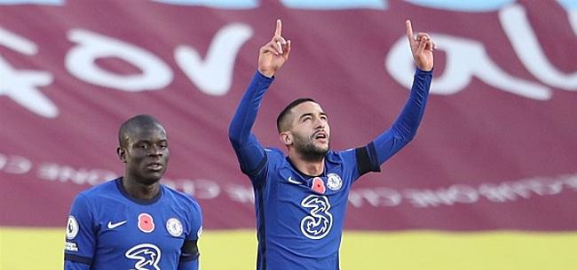 Foto: VIDEO: Ziyech scoort in 2e wedstrijd op rij voor Chelsea