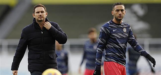 Foto: Lampard verdedigt zich voor Ziyech: