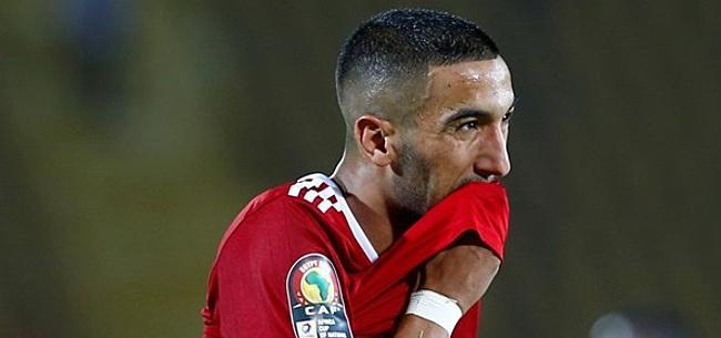 Foto: Invaller Ziyech binnen paar seconden belangrijk voor Marokko