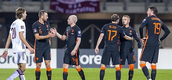 Foto: 'Van Gaal verrast met opstelling Oranje'