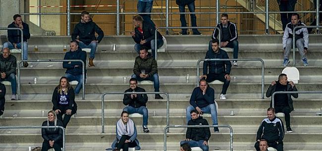 Foto: Gemengde reacties over voetbal zonder publiek: