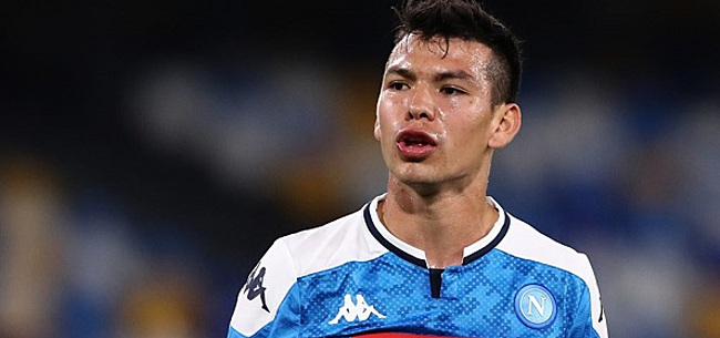 Foto: 'Hirving Lozano na dit seizoen al weer weg bij Napoli'