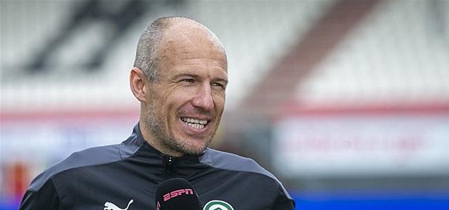 Foto: Arjen Robben kondigt groot nieuws aan