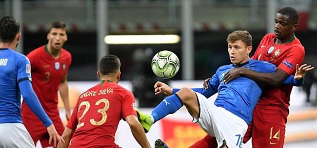 Foto: Nations League: groepswinst Portugal na gelijkspel, Turkije degradeert