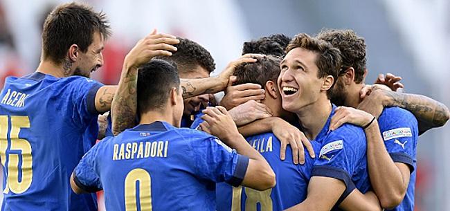 Foto: EK-winnaar Italië bezorgt België nieuwe dreun