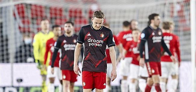 Foto: 'Feyenoord heeft zichzelf gigantisch in de nesten gewerkt'
