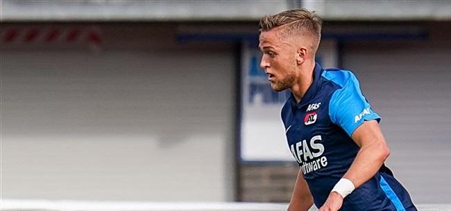 Foto: AZ-aanvaller Karlsson standby: mag alsnog hopen op EK