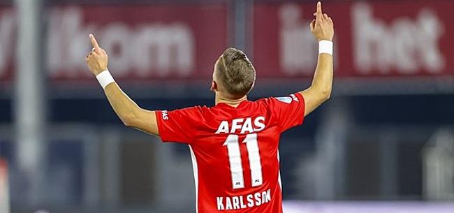 Foto: AZ droomt nog altijd van titel: 'Tegen PSV moet het gebeuren'