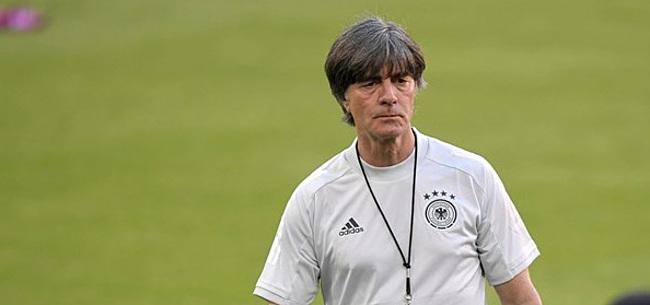Foto: Löw reageert op mogelijke clash met Oranje