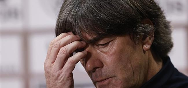 Foto: Löw reageert op bizarre nederlaag Duitsland