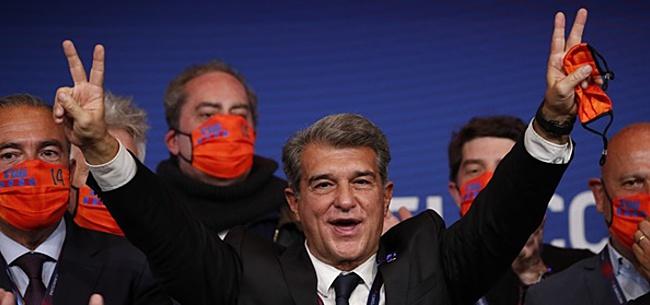 Foto: 'Laporta zet nieuwe spits bovenaan wensenlijst'