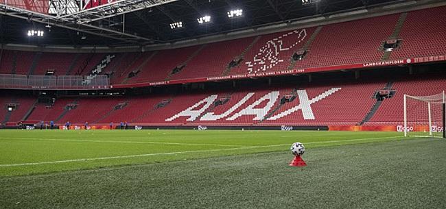 Foto: Walging om spandoek in Arena: