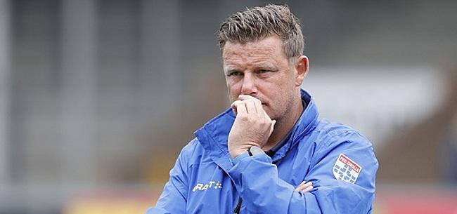 Foto: PEC Zwolle-trainer Stegeman wil van bescheidenheid af