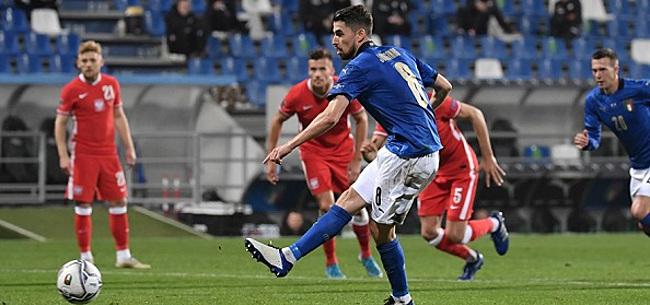 Foto: Italië blijft Oranje voor, Belgen kloppen Engeland