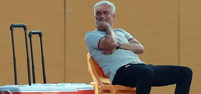 Foto: José Mourinho maakt spelersvrouwen boos