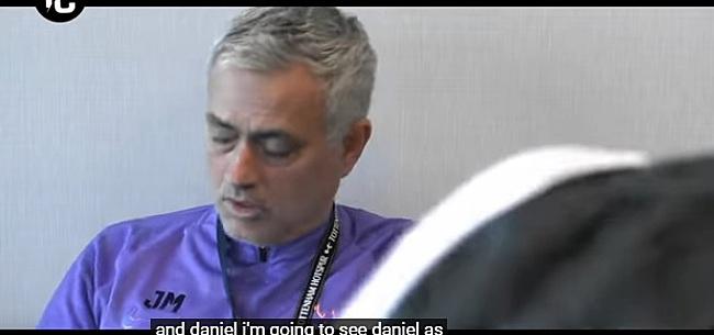 Foto: Mourinho prijst afgeschreven aankoop na overleving