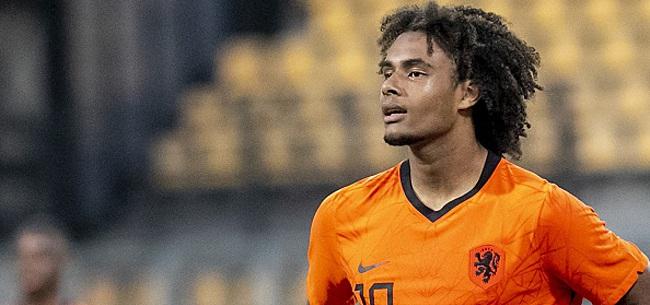 Foto: Zirkzee doet boekje open over interesse Feyenoord afgelopen zomer