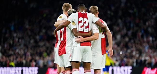 Foto: Buitenland gaat los over Ajax: 'Bizar!'
