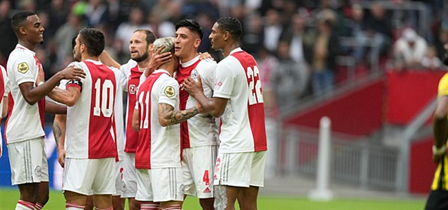 Foto: Ajax gaat voor contractverlenging: