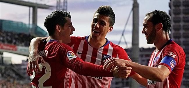 Foto: Atlético schakelt titelhouder uit na prachtige gevecht op Anfield