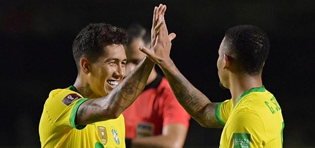 Foto: Roberto Firmino goud waard voor Brazilië