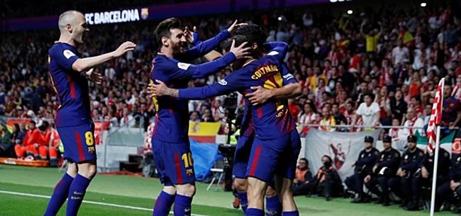Foto: FC Barcelona presenteert zijn nieuwe thuisshirt