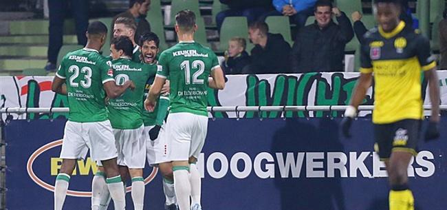 Foto: FC Dordrecht maakt het goed: 'We lopen geen direct gevaar'