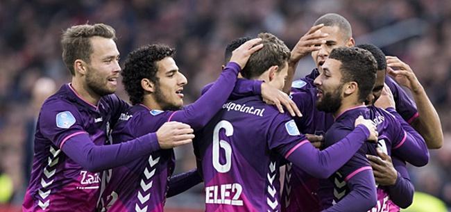 Foto: Kerk bezorgt FC Utrecht nipte overwinning op VVV